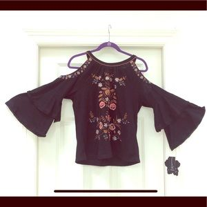 Bohemian style top by Inc